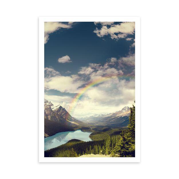 Rainbows & Mountains Encouragement Card