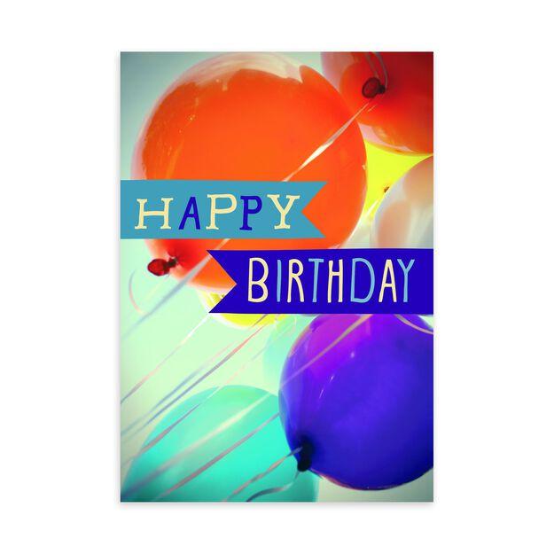 Balloon Bouquet Birthday Card