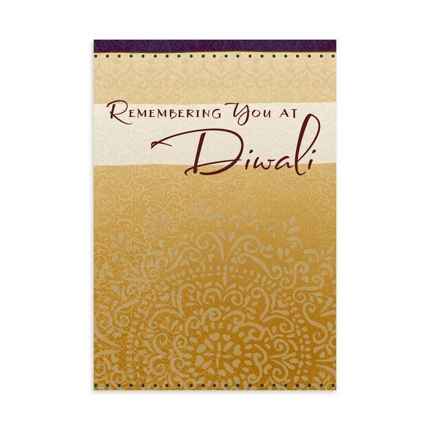 Shimmering Medallion Diwali