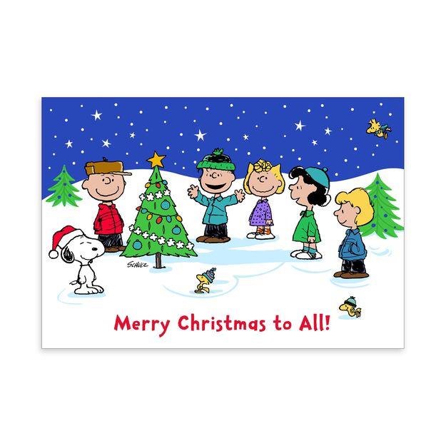 The Peanuts® Gang Charlie Brown Christmas Card
