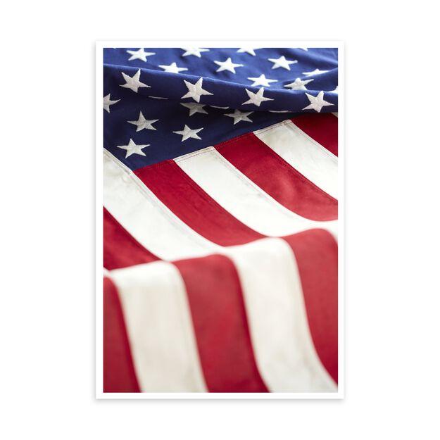 Bold American Flag Patriotic Card