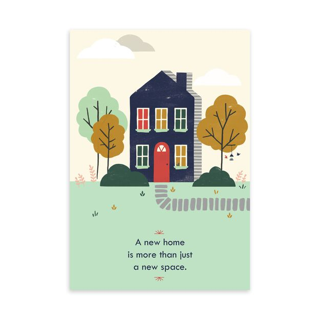 More Than a New Space New Home Card
