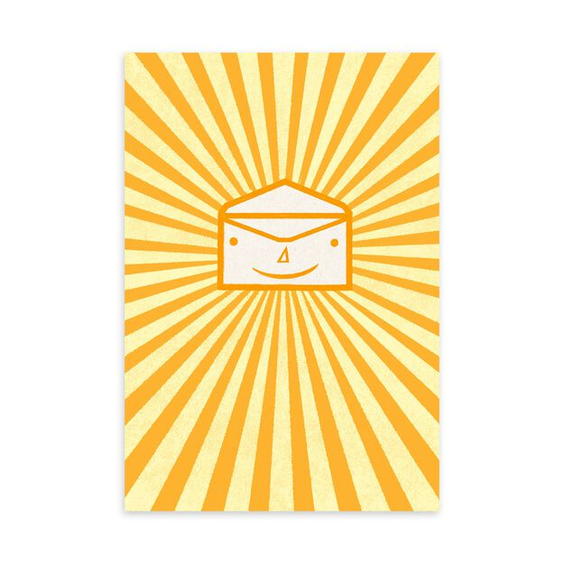 Sunny Happy Envelope Just Because Card