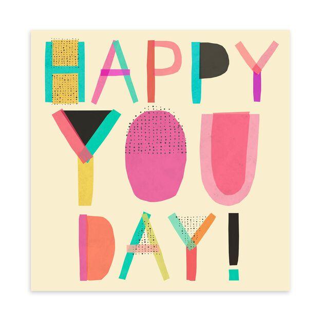 Happy You Day Birthday Card