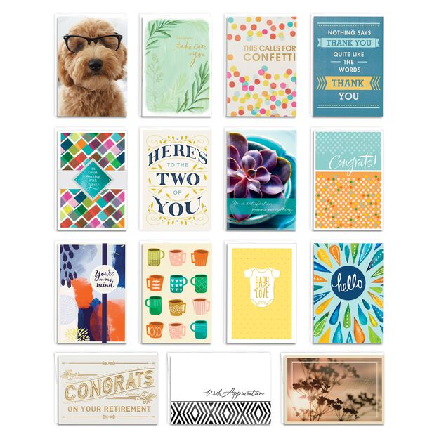 Starter Pack Assorted Life Event Cards 75 Pack