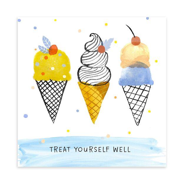 Ice Cream Cones Birthday Card