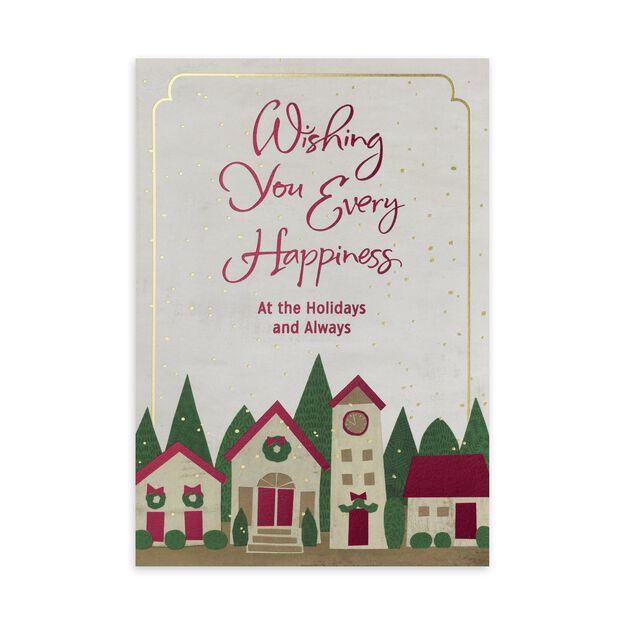 Jolly Houses Holiday Card