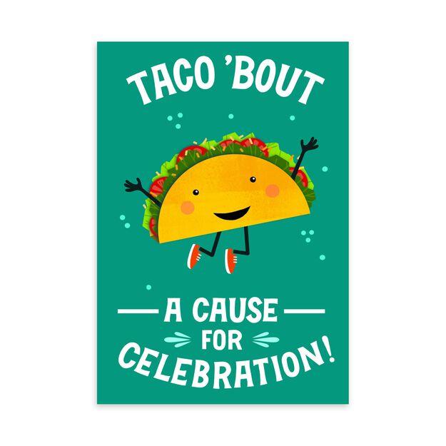 Taco Celebration Employee Appreciation Card