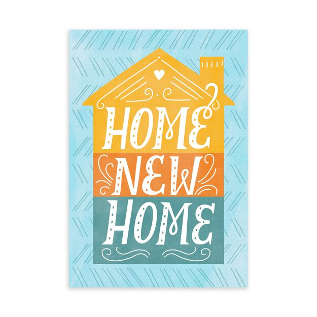 Home, New Home Card