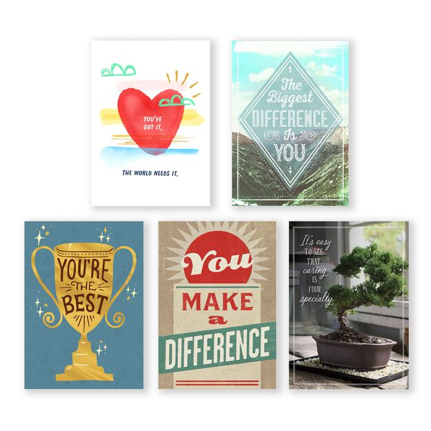 Assorted Appreciation Cards 25 Pack