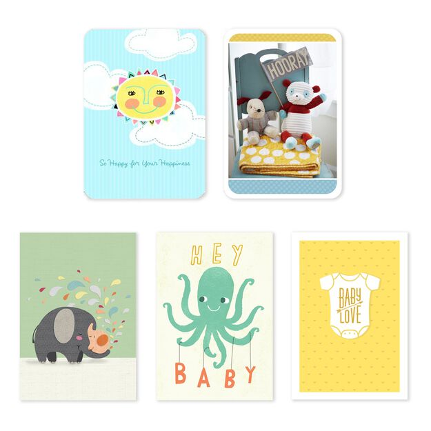 Baby, Adoption, Grandbaby Assorted Cards 25 Pack