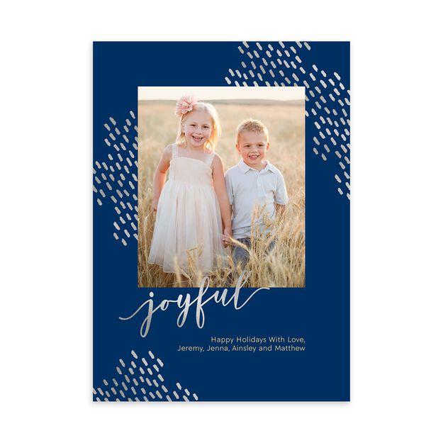 Joyful & Shining Holiday Photo Card