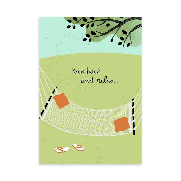 Kick Back & Relax Birthday Card