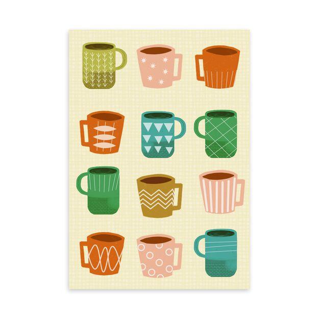 Coffee Mugs Just Because Card