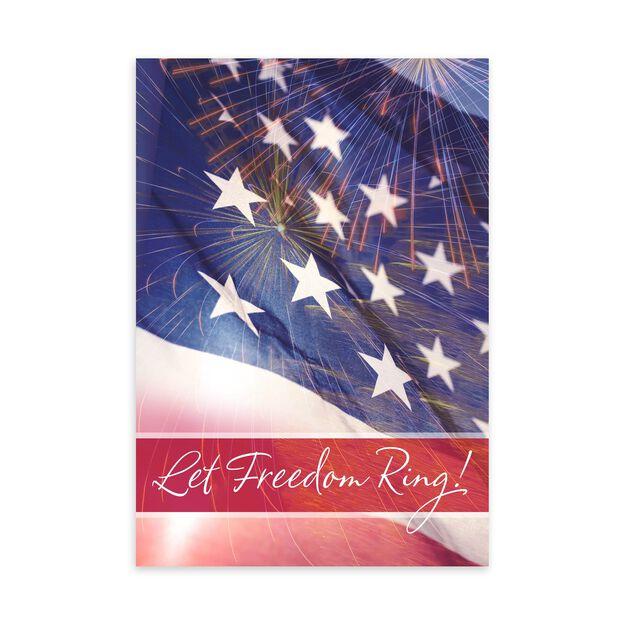 Freedom & Fireworks Military Appreciation Card