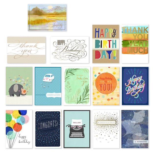 All Occasions Assorted Greeting Cards 75 Pack
