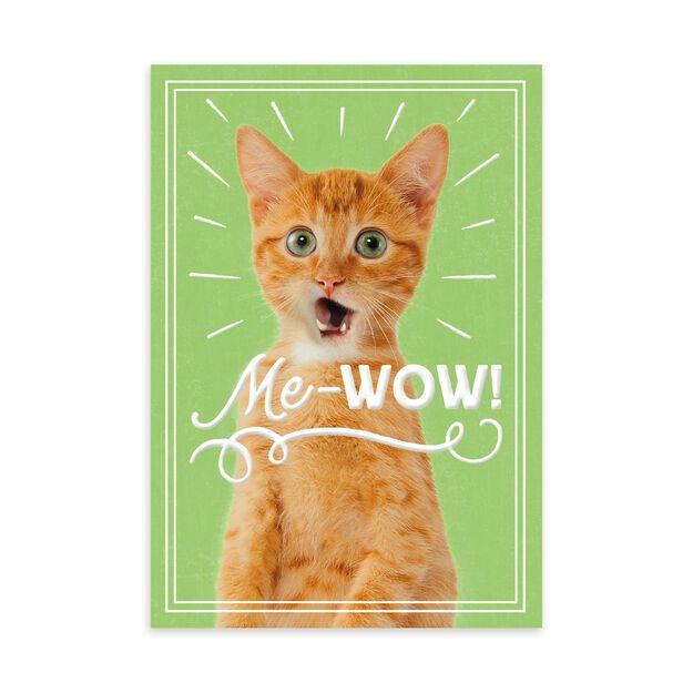 Cat's Me-Wow Employee Appreciation Card