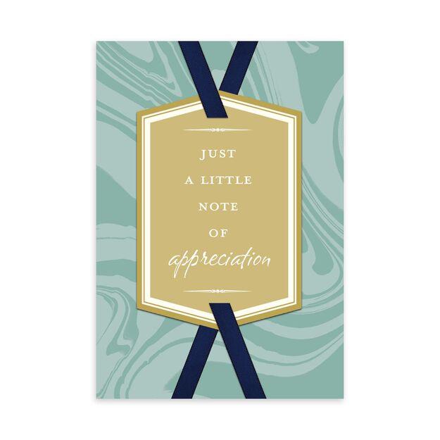 Marble Appreciation Card