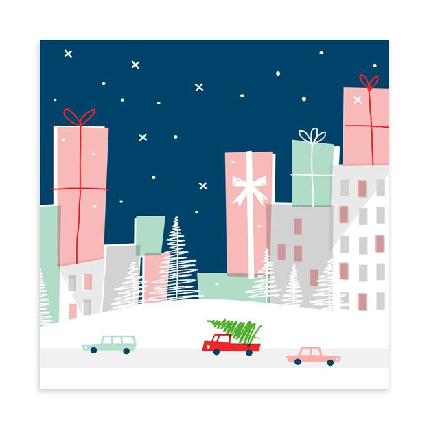 City Gifts Holiday Card