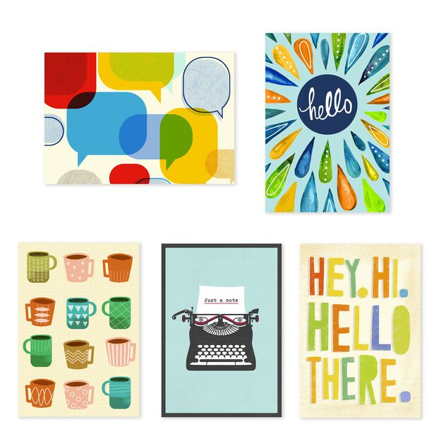 Introduction, Welcome, Follow Up Assorted Cards 25 Pack