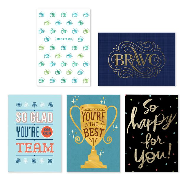 Above & Beyond Assorted Employee Appreciation Cards 25 Pack